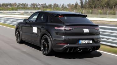 Porsche Cayenne Coupe prototype - rear