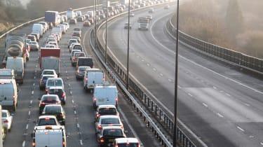 M25 UK's slowest motorway