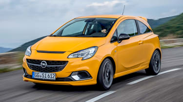 Vauxhall Corsa GSi - front tracking