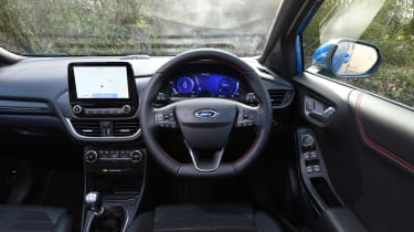 Ford Puma - interior