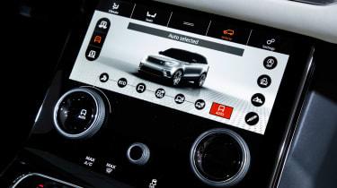 Range Rover Velar show - infotainment