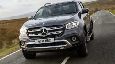 Mercedes X-Class review - front grille