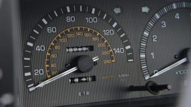 Toyota AE86 dials