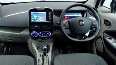 Used Renault ZOE - dash
