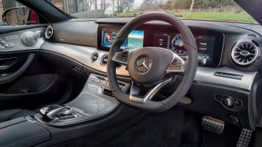 Mercedes E 350 d - steering wheel