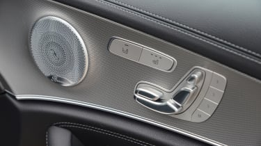 Mercedes E 350d 2016 - door inlays