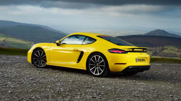Porsche 718 Cayman - rear static