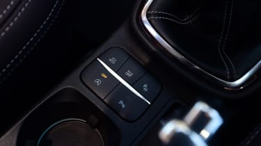 Ford Fiesta Vignale buttons