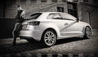 Audi A3 rear static
