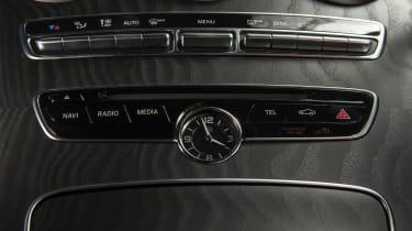 Mercedes C-Class Coupe - centre console