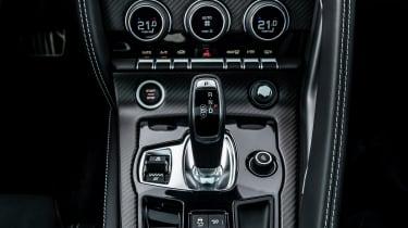 2020 Jaguar F-Type - gearstick