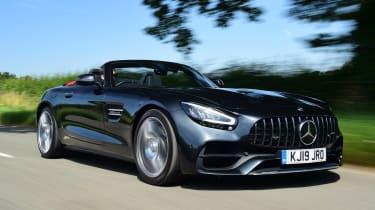 Mercedes-AMG GT Roadster - front