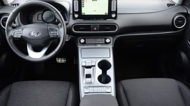 Hyundai Kona electric interior front