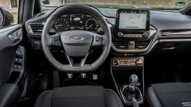 Ford Fiesta ST-Line - dash
