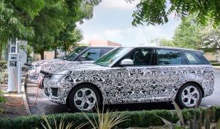 Range Rover Sport PHEV official spy shot