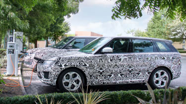 Range Rover Sport PHEV official spy shot