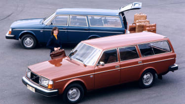 Volvo Estates - 245 loading