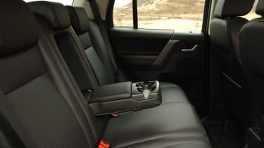 Land Rover Freelander TD4 rear seats