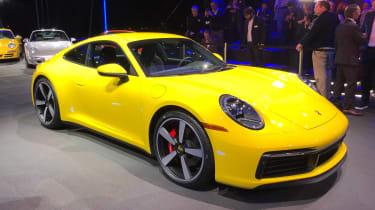 Porsche 911 - LA Motor Show - yellow front