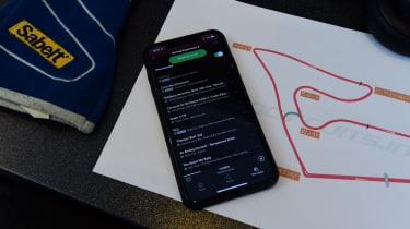Playlist and track map