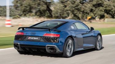 Audi R8 - rear