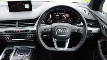 Audi SQ7 long term test - first report dash