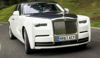 Rolls-Royce Phantom - grille