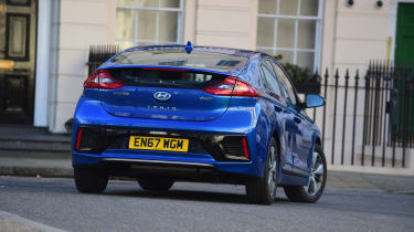 Hyundai Ioniq Plug-in long term - first report rear action