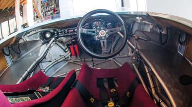 RM Sotheby's 2017 Paris auction - 1970 Porsche 917/10 Prototype interior