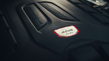 Porsche Cayenne Coupe - engine