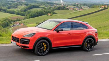 Porsche Cayenne Turbo Coupe - front static