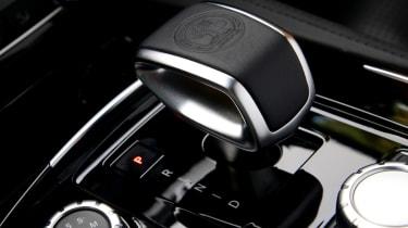 Mercedes CLS 63 AMG Shooting Brake gearlever