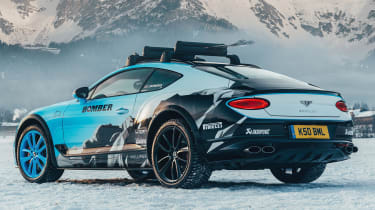 Bentley Continental GT ice racer - rear 3/4 static