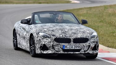 BMW Z4 prototype - front panning