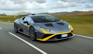 New Lamborghini Huracan STO - front
