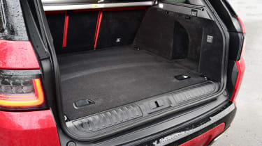Range Rover HST - boot