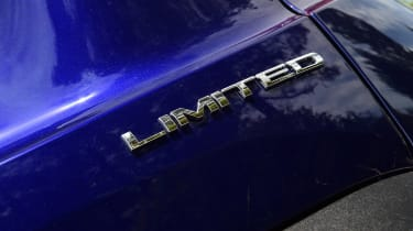 Jeep Renegade - Limited badge