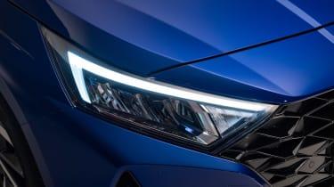 Hyundai i20 - front light
