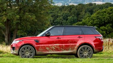 Range Rover Sport - side
