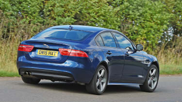 Jaguar XE - rear cornering