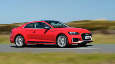 Audi RS5 - action