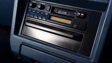 Nissan Bluebird - centre console