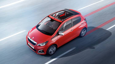 Peugeot 108 new trims announced