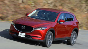 New Mazda CX-5 - front action