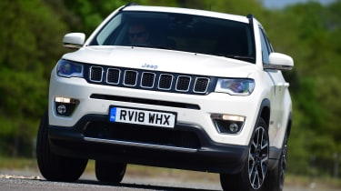 Jeep Compass - front cornering