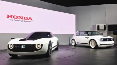 Honda Sports EV concept and Honda EV concept
