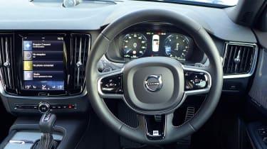 Volvo S90 long-termer - steering wheel