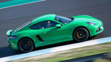 Porsche 718 Cayman GTS 4.0 - above