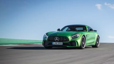 Mercedes-AMG GT R - track front tracking 2