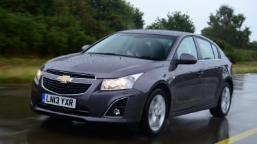 Chevrolet Cruze front tracking